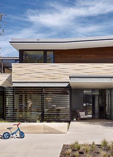 Domy dachy płaskie