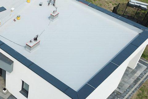 Dachy płaskie domy jednorodzinne